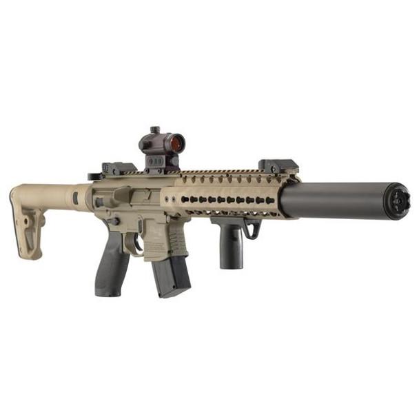 SIG SAUER MCX 177mm 88 Gr CO2 Red Dot FDE Air Rifle (AIR-MCX-MRD-177-88G-30-FDE)