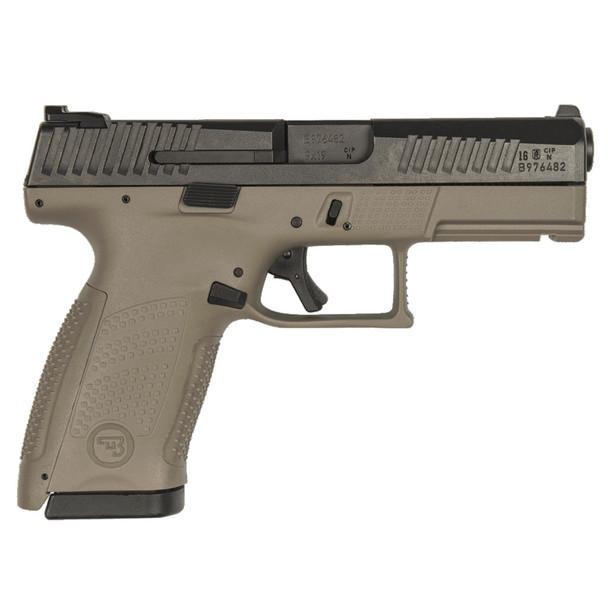 CZ P-10 C 9mm 15rd FDE Pistol (91532)