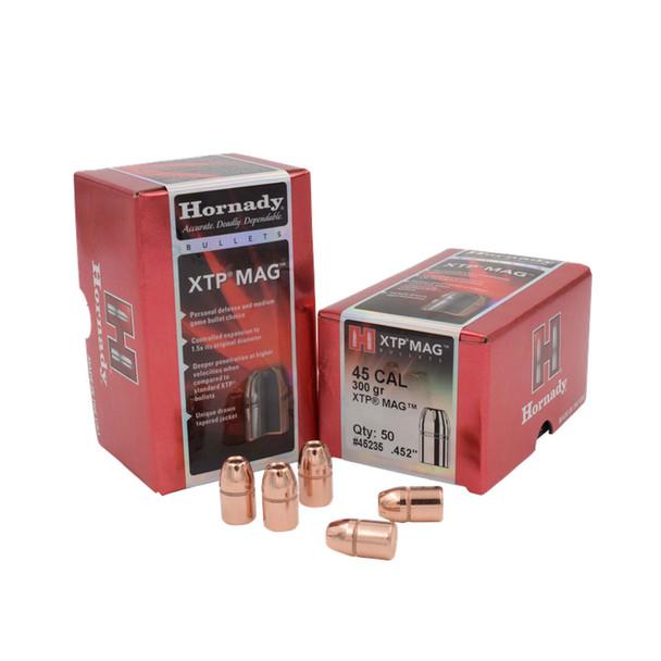 HORNADY .45 Caliber 300Gr XTP Mag Pistol Bullets (45235)