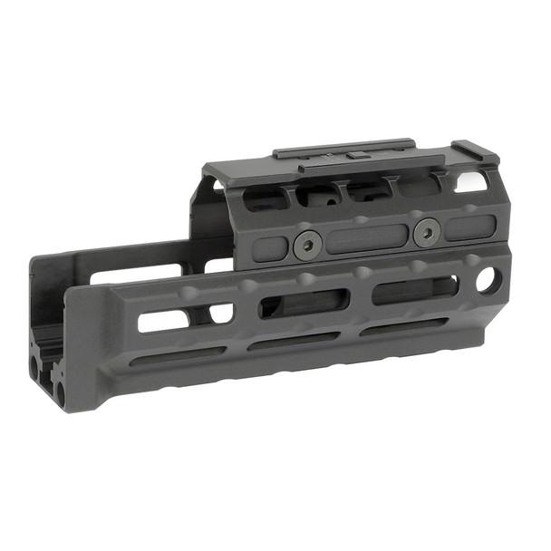 MIDWEST INDUSTRIES Gen2 AK47/74 Universal M-Lok Handguard with T1 Topcover (MI-AKG2-UMT1)