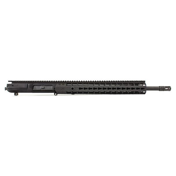 AERO PRECISION M5E1 18in 308 Rifle Barrel EK-15 HG Anodized Black Complete Upper (APAR308554P25)