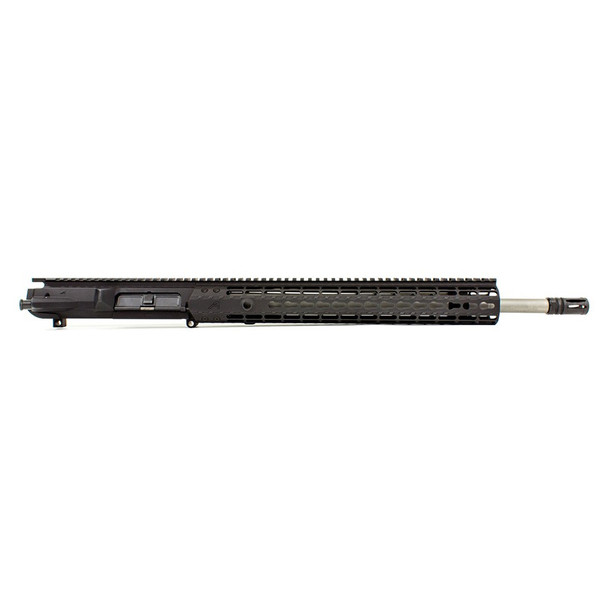 AERO PRECISION M5E1 18in 308 SS Rifle Barrel EK-15 HG Anodized Black Complete Upper (APAR308554P26)