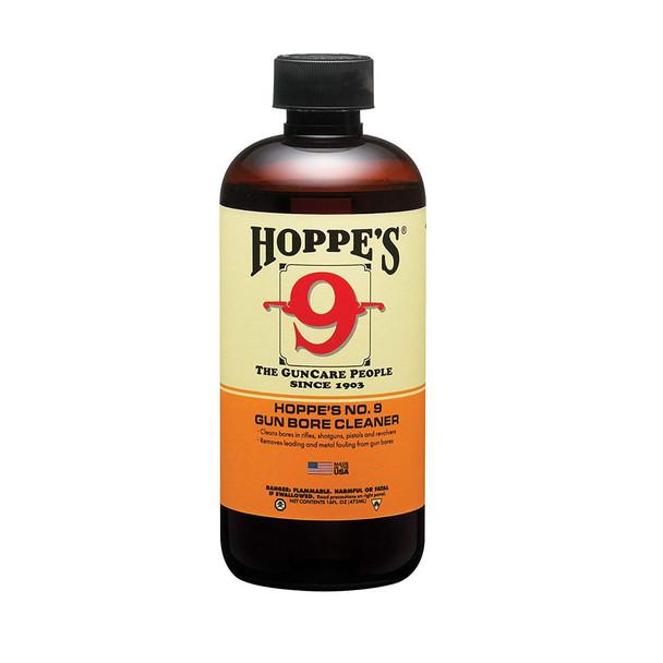 HOPPE'S No. 9 16oz Bottle Gun Bore Cleaner (916)