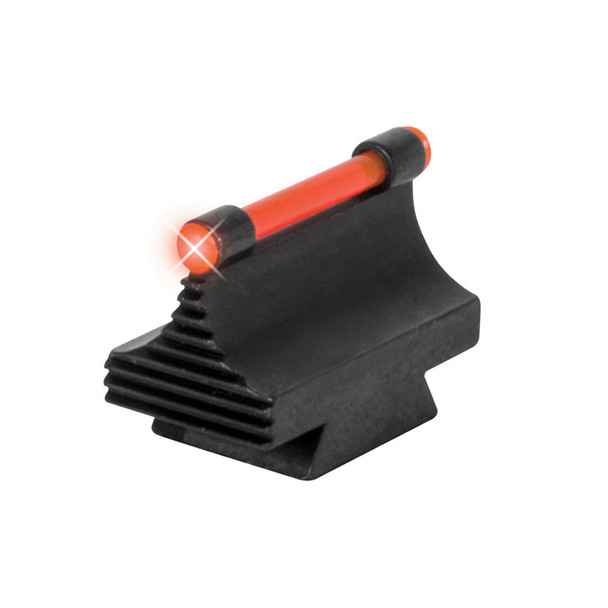 TRUGLO 3/8in Fiber Optic Red .530in Height, Metal Dovetail Sights (TG95530RR)