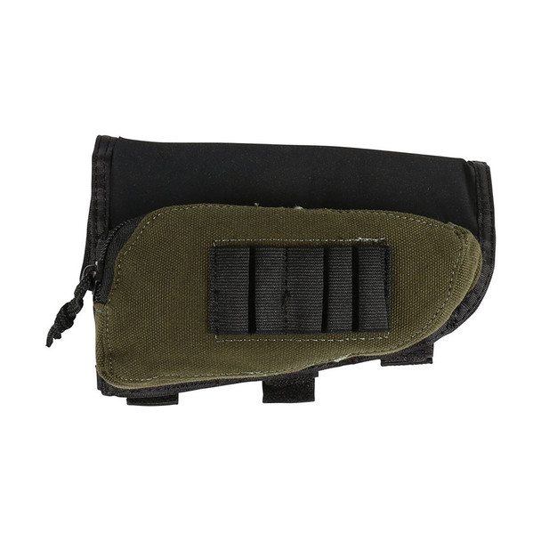 ALLEN Black/Green Buttstock Shell Holder (20550)