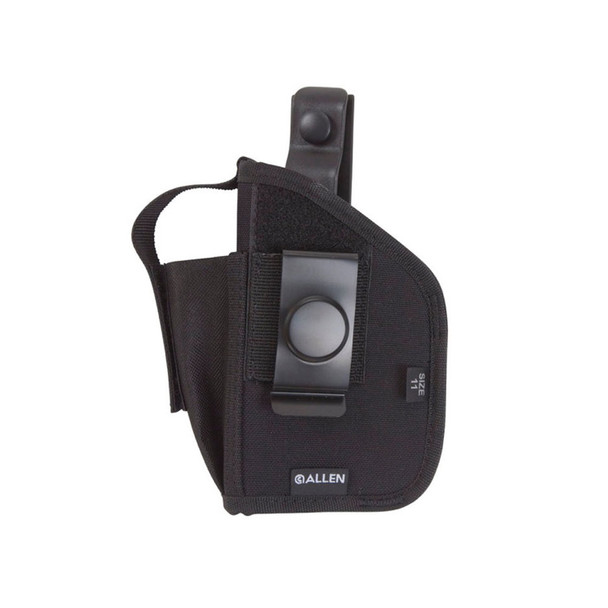 ALLEN Black Ambidextrous Holster for .380 Auto with Laser (44346)
