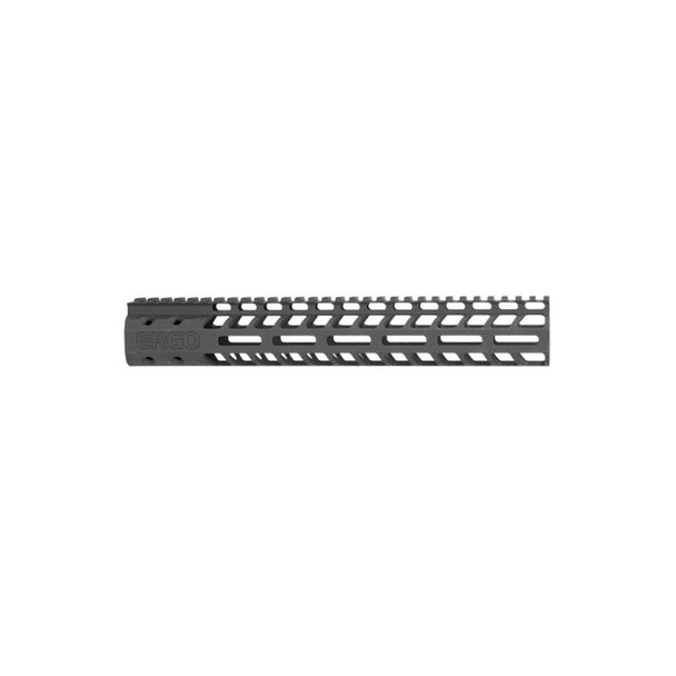 ERGO SuperLite AR15 12in Modular M-Lok Rail System (4820-12-BK)