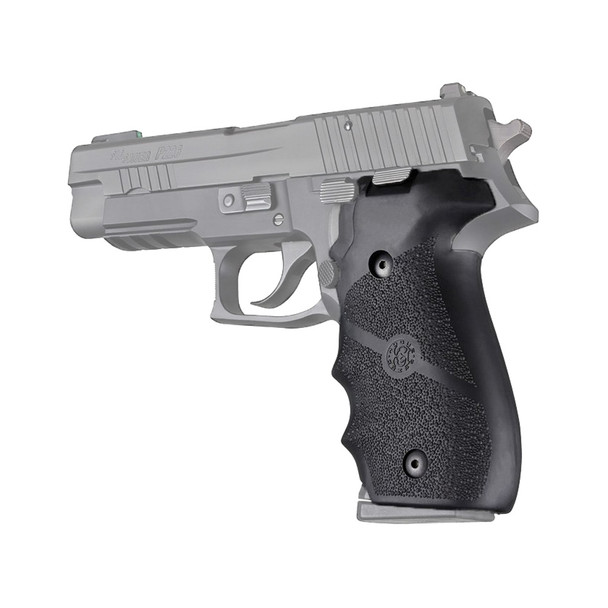 HOGUE Sig Sauer P226 Rubber with Finger Grooves Black Grip (26000)