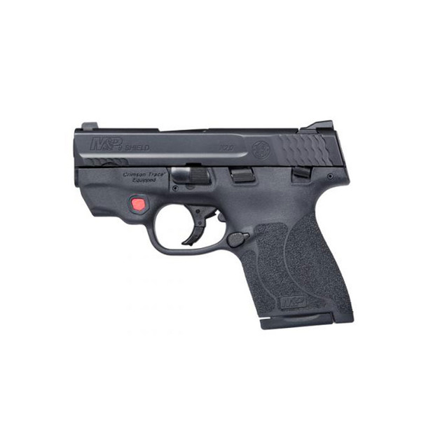 SMITH & WESSON M&P 9mm 3.1in 1x7rd 1x8rd Semi-Automatic Pistol with Integrated Red Laser (11671)