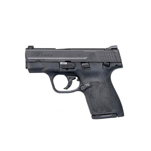 SMITH & WESSON M&P Shield M2.0 9mm 3.1in 1x7rd 1x8rd Black Semi-Auto Pistol with Thumb Safety (11806)