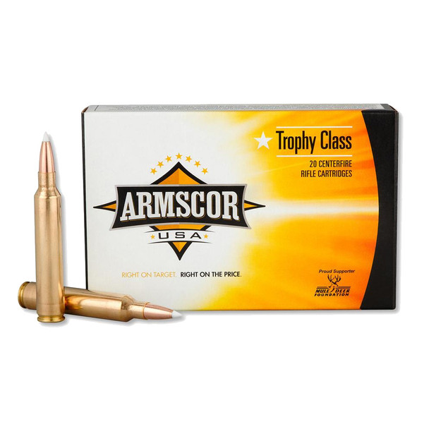 ARMSCOR 300 RUM 180 Grain AB 20rd Box Hunting Ammo (FAC300RUM180GRAB-TC)