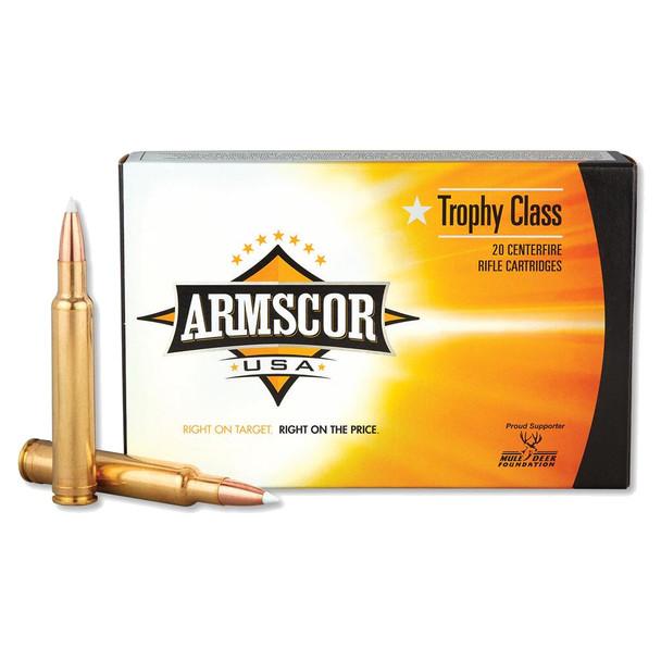 ARMSCOR 300 WBY 180 Grain AB 20rd Box Hunting Ammo (FAC300WBY180GRAB-TC)