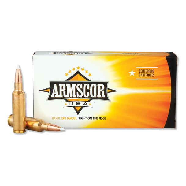 ARMSCOR 300 WSM 165 Grain AB 20rd Box Hunting Ammo (FAC300WSM165GRAB-TC)