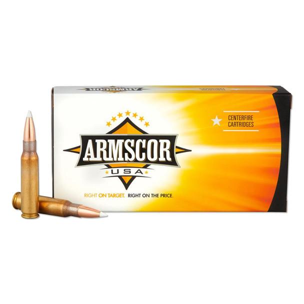 ARMSCOR 308 Win 165 Grain AB 20rd Box Hunting Ammo (FAC308165GRAB-TC)