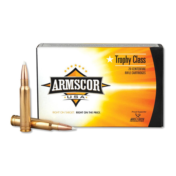 ARMSCOR 338 Win Mag 225 Grain AB 20rd Box Hunting Ammo (FAC338MAG225GRAB-TC)