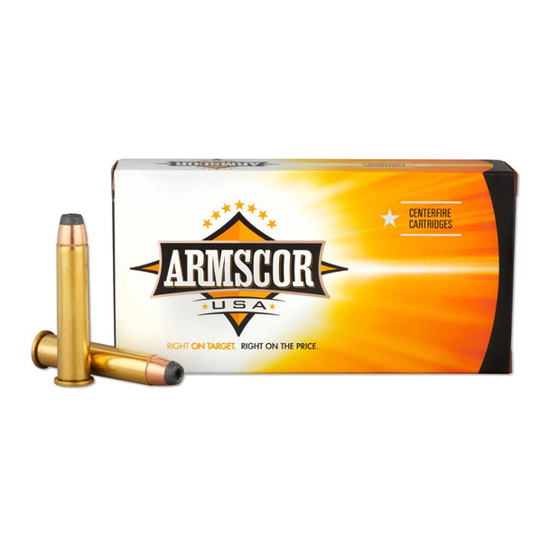 ARMSCOR 45-70 Govt 300 Grain JHP 20rd Box Hunting Ammo (FAC4570300GRJHP-TC)