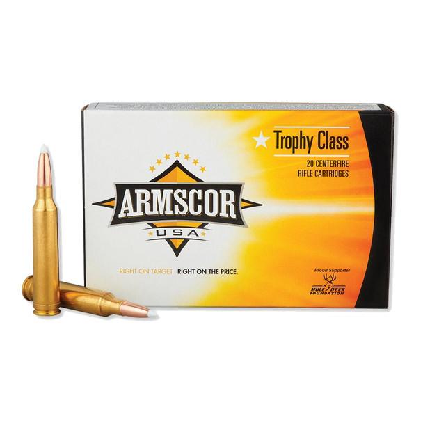 ARMSCOR 7mm Rem Mag 160 Grain AB 20rd Box Hunting Ammo (FAC7MM160GRAB-TC)