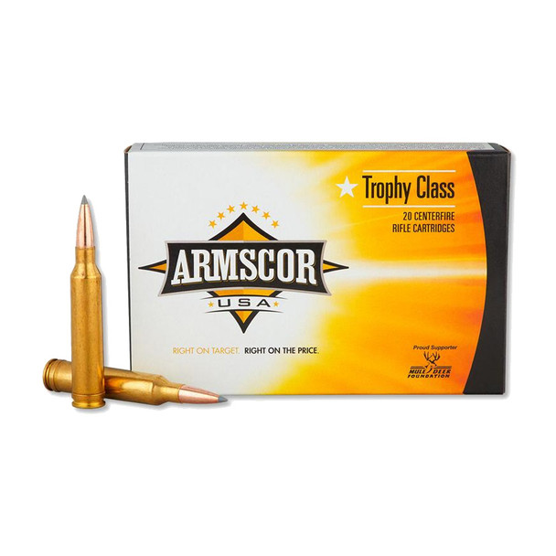 ARMSCOR 7mm Rem Mag 175 Grain AB 20rd Box Hunting Ammo (FAC7MM175GRAB-TC)
