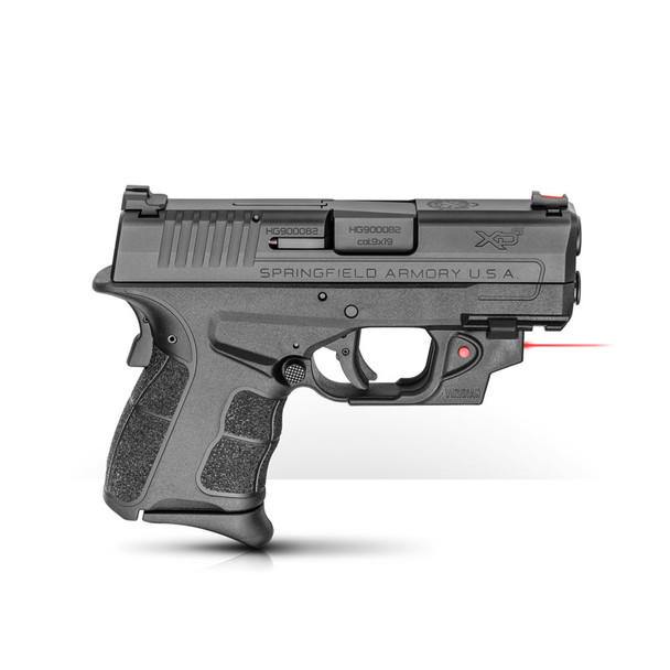 SPRINGFIELD XD-S Mod.2 9mm 3.3in 1x7rd 1x9rd Semi-Automatic Pistol with Viridian Red Laser (XDSG9339BVR)