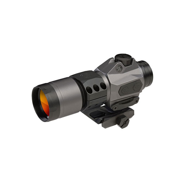 SIG SAUER Romeo6H 1x30mm Ballistic Circle Dot Graphite Red Dot Sight (SOR61011)