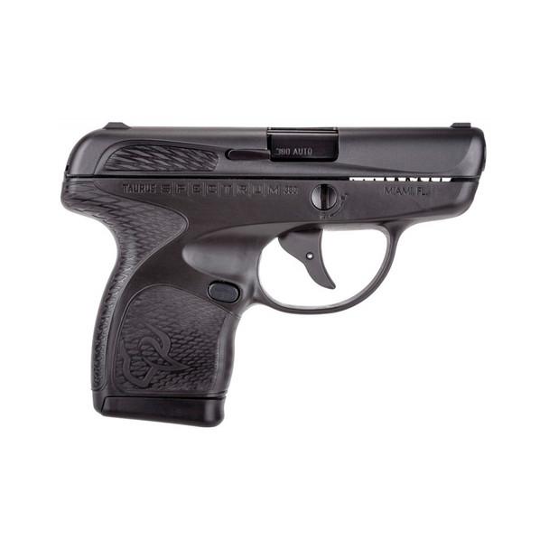 TAURUS Spectrum .380 ACP 2.8in 6rd/7rd Black Semi-Automatic Pistol (1007031101)