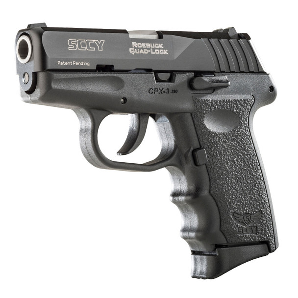 SCCY CPX-3 380 ACP 2.96in 10rd Black/Black Nitride Slide Pistol (CPX-3-CB)