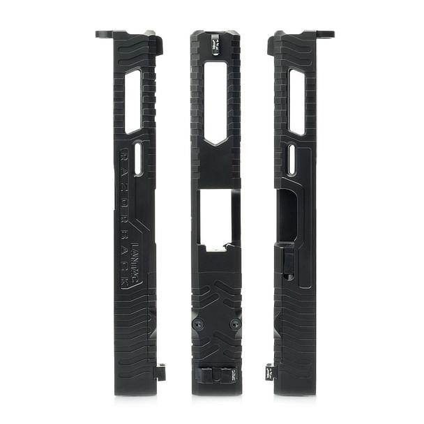LANTAC Razorback Gen 1-3 G19 Solid Upgrade Slide Assembly (01-GS-GEN13-G19)