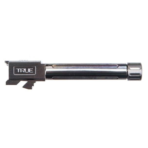 TRUE PRECISION Stealth Gray Threaded Barrel for Glock 19 (TP-G19B-XTA)