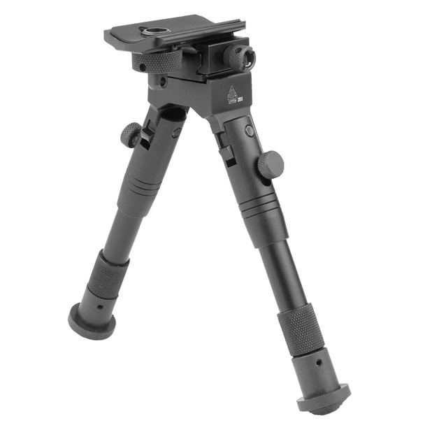 UTG Shooters Rubber Feet 6.2-6.7in Height SWAT Bipod (TL-BP28S)