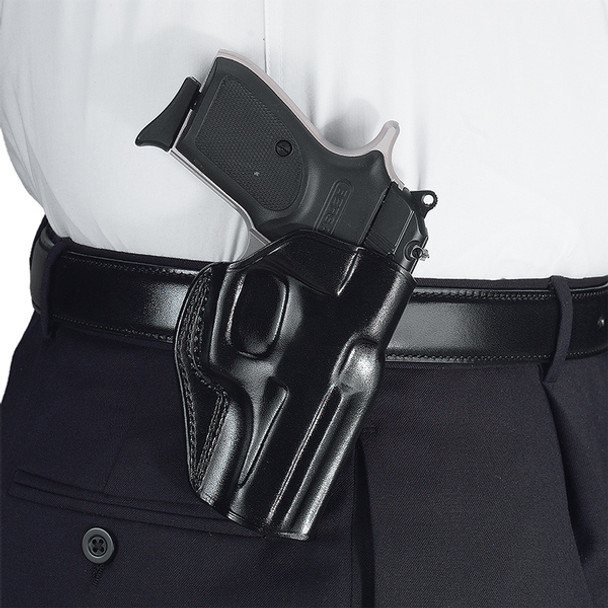 GALCO Stinger S&W M&P 9,40 Compact Right Hand Leather Belt Holster (SG474B)