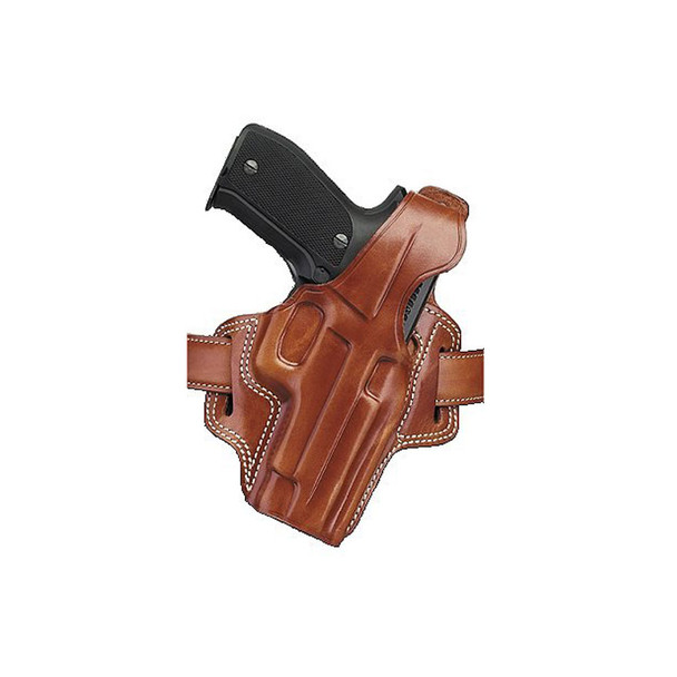 GALCO Fletch High Ride Ruger SP101 2.25in Right Hand Leather Belt Holster (FL118)