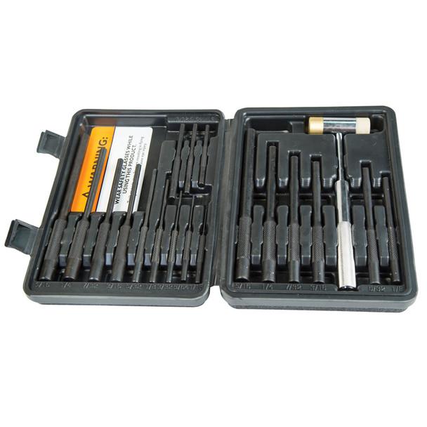 WHEELER Master Roll Pin Punch Set Gunsmithing Kit (110128)