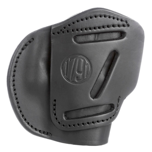 1791 GUNLEATHER 3WH 3 Way Stealth Black size 2 Belt Holster (3WH-2-SBL-A)