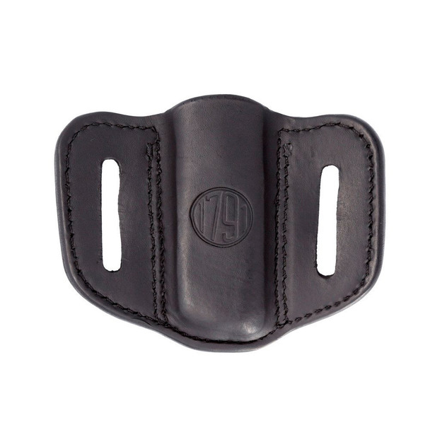 1791 GUNLEATHER MAG 1.1 Single Mag Single Stack Stealth Black Holster (MAG-1.1-SBL-A)