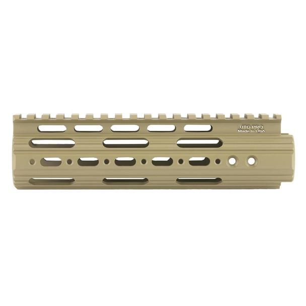 UTG Pro AR15 7in Super Slim Free Float FDE Cerakote Handguard (MTU005SSD)