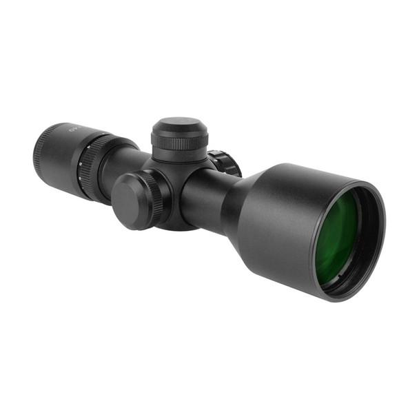 AIM SPORTS 3-9x40mm Compact Dual-Illuminated P4 Sniper Reticle Scope (JTD3940G)