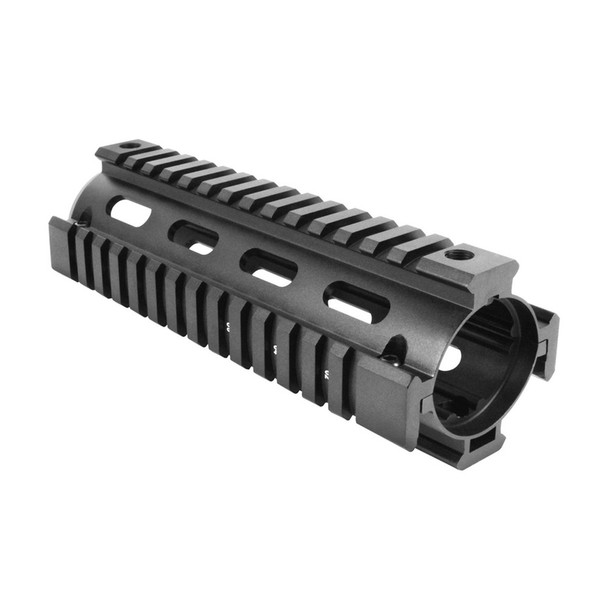 AIM SPORTS M4 Quad Rail Carbine Length Black Handguard (MT021)