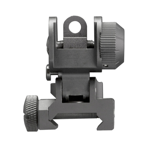AIM SPORTS AR15/M16 A2 Dual Aperature Rear Flip-Up Sight (MT035)