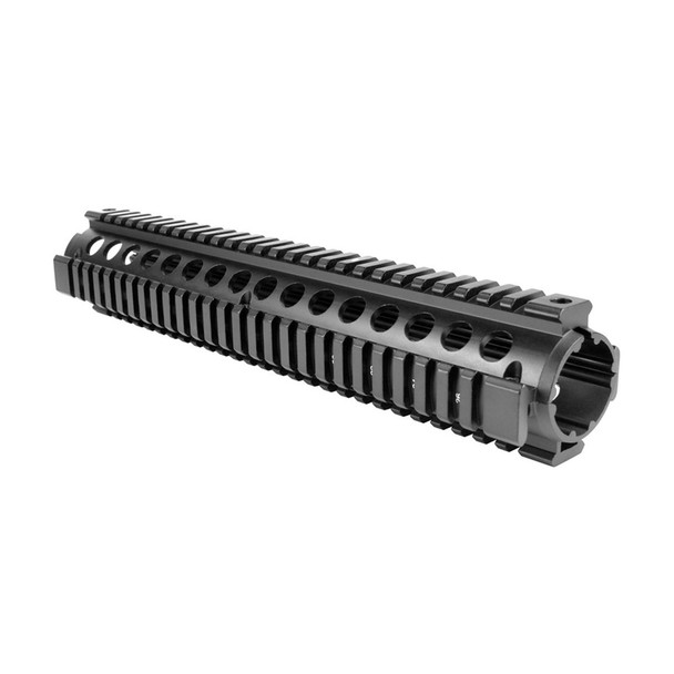 AIM SPORTS AR Rifle Length Drop-In /V2 Quad Rail Handguard (MT051)