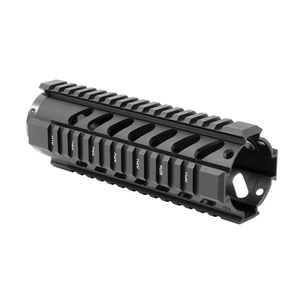 AIM SPORTS AR Free Float Carbine Length /V3 Quad Rail Handguard (MT060)