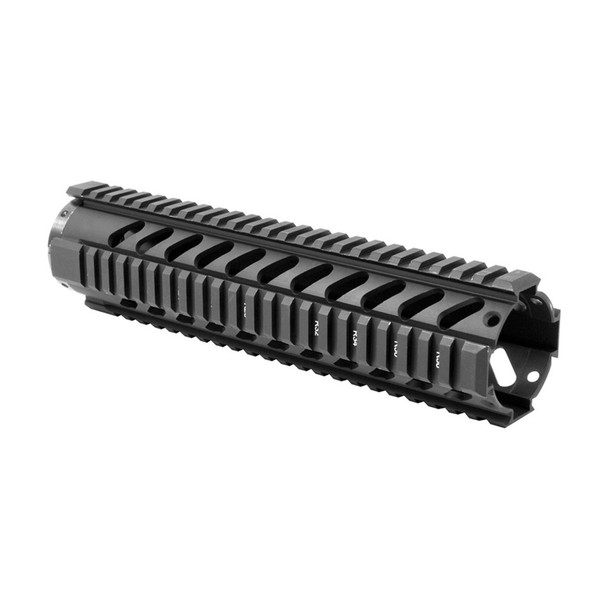 AIM SPORTS AR Free Float Mid Length /V3 Quad Rail Handguard (MT061)