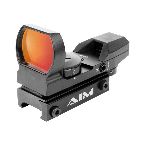 AIM SPORTS 1x34mm Red Dot 4 Reticles Reflex Sight (RT4-01)