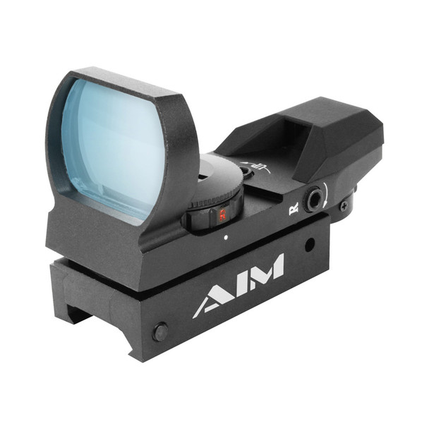 AIM SPORTS 1x34mm Dual Illuminated 4 Reticles Reflex Sight (RT4-03)