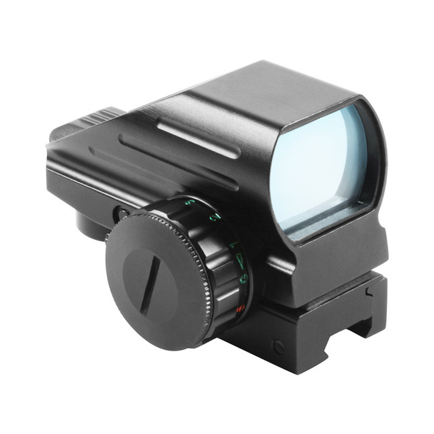 AIM SPORTS 1x33mm Dual Illuminated 4 Reticles Reflex Sight (RT4-06C)