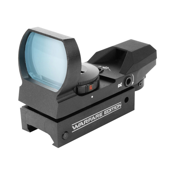 AIM SPORTS 1x34mm Dual Illuminated 4 Reticles Warfare Edition Sight (RT4-WF1)