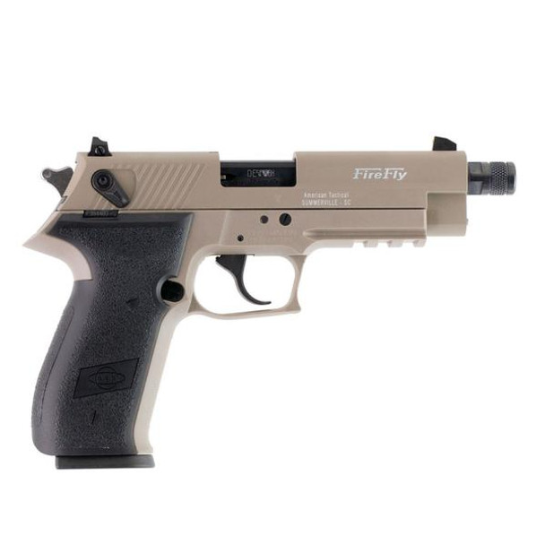 AMERICAN TACTICAL IMPORTS GSG Firefly HGA .22LR 4.9in 10rd Tan Semi-Automatic Pistol (GERG2210TFFT)