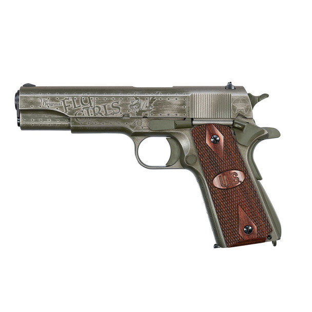 AUTO ORDNANCE 1911 Fly Girls Special Edition WW2 .45 ACP 5in 7rd Semi-Automatic Pistol (1911BKOWC2)
