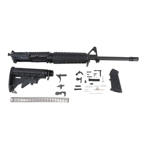 DEL-TON AR15 5.56mm 16in Rifle Kit with Lower Parts Kit (RKT101)