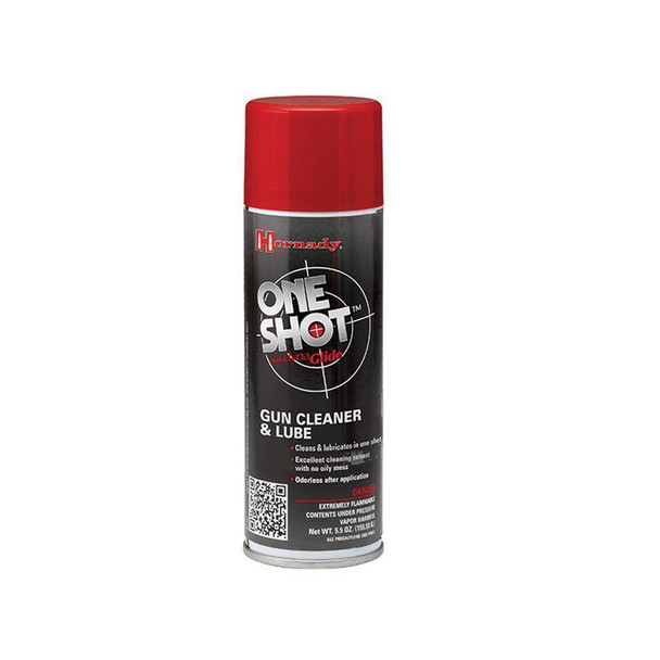 HORNADY One Shot 5oz Gun Cleaner with DynaGlide Plus (9990)