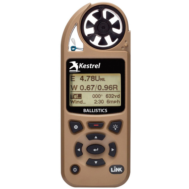 KESTREL 5700 Ballistics Weather Meter with LiNK (0857BLTAN)